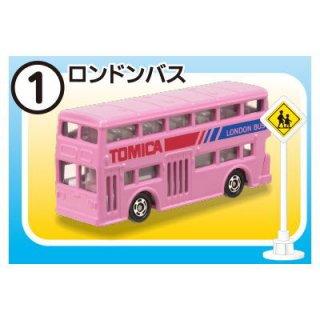トミカ標識セット5 [1.ロンドンバス]【 ネコポス不可 】【C】
