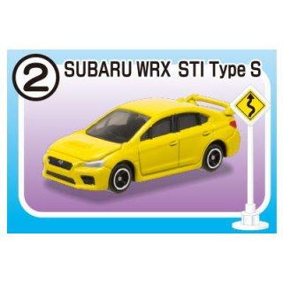 トミカ標識セット5 [2.スバル WRX STI Type S]【 ネコポス不可 】【C】