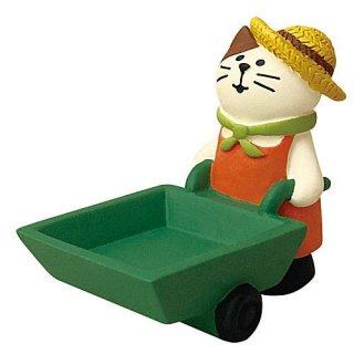 【豊作カート猫 (ZHW-28876)】DECOLE concombre デコレ コンコンブル コンコンファーム ハロウィン収穫祭 【 ネコポス不可 】【C】