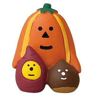 【いもくりかぼちゃ (ZHW-28877)】DECOLE concombre デコレ コンコンブル コンコンファーム ハロウィン収穫祭 【 ネコポス不可 】【C】