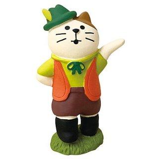 【フォークダンス猫 BOY (ZHW-28879)】DECOLE concombre デコレ コンコンブル コンコンファーム ハロウィン収穫祭 【 ネコポス不可 】【C】