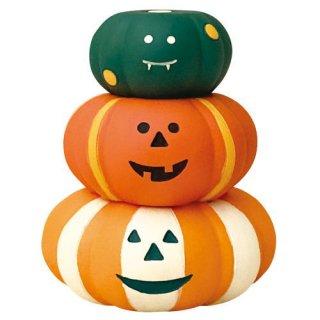 【かぼちゃスツールセット (ZHW-28882)】DECOLE concombre デコレ コンコンブル コンコンファーム ハロウィン収穫祭 【 ネコポス不可 】