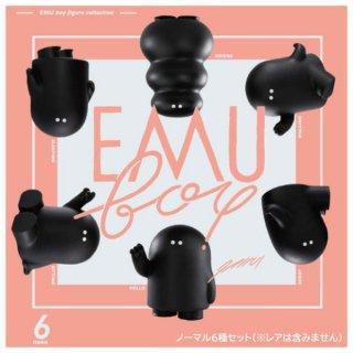 EMU boy フィギュアコレクション [ノーマル6種セット(※レアver.は含みません。)]【 ネコポス不可 】【C】