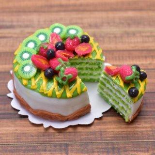 ミニチュアフード 切れてるケーキ(5) [SLCS5] (1/12スケール) [m-s] 【ネコポス配送対応】【C】