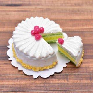 ミニチュアフード 切れてるケーキ(9) [SLCS9] (1/12スケール) [m-s] 【ネコポス配送対応】【C】