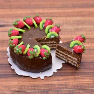 ミニチュアフード 切れてるケーキ(10) [SLCS10] (1/12スケール) [m-s] 【ネコポス配送対応】【C】