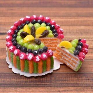 ミニチュアフード 切れてるケーキ(12) [SLCS12] (1/12スケール) [m-s] 【ネコポス配送対応】【C】