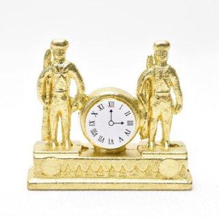 ミニチュアパーツ 兵隊さんの置時計 [SAD1660] [m-s]【ネコポス配送対応】【C】