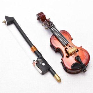 ミニチュア 1/12スケール バイオリン [IDV-5] [m-s]【ネコポス配送対応】【C】