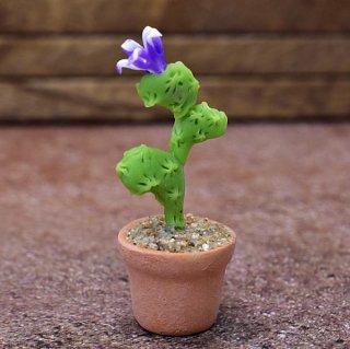 ミニチュアパーツ 鉢植えミニサボテン [CT27] (1/12スケール) [m-s]【ネコポス配送対応】【C】