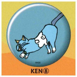 NEKO KEN 缶バッジ [8.KEN (8)]【ネコポス配送対応】【C】