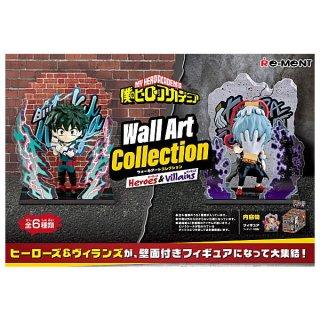 【2022年1月17日予約】僕のヒーローアカデミア Wall Art Collection Heroes&Villains 【全6種セット(フルコンプ)】【※発売月の異なる予約商品とは同梱不可】