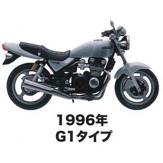 MONO 1/24スケール ヴィンテージバイクシリーズ Kawasaki ZEPHYR Kai   Vol.2 [1.1996年G1タイプ シルバー]【ネコポス配送対応】【C】