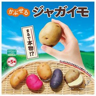 【全部揃ってます!!】TAMA-KYU かぷせるジャガイモ [全5種セット(フルコンプ)]【 ネコポス不可 】