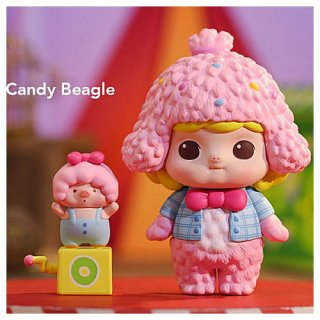 POPMART Minico おもちゃパーティー シリーズ [3.Candy Beagle]【 ネコポス不可 】