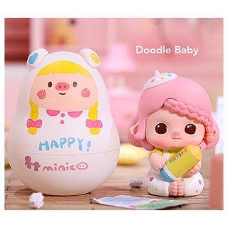 POPMART Minico おもちゃパーティー シリーズ [10.Doodle Baby]【 ネコポス不可 】