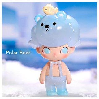 POPMART DIMOO アクアリウム シリーズ [2.Polar Bear (ホッキョクグマ)]【 ネコポス不可 】