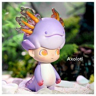 POPMART DIMOO アクアリウム シリーズ [3.Axolotl (ウーパールーパー)]【 ネコポス不可 】