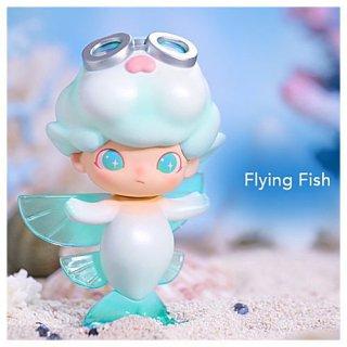 POPMART DIMOO アクアリウム シリーズ [6.Flying Fish (トビウオ)]【 ネコポス不可 】