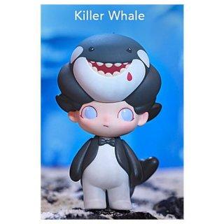 POPMART DIMOO アクアリウム シリーズ [8.Killer Whale (シャチ)]【 ネコポス不可 】