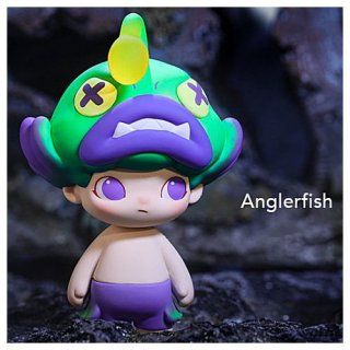 POPMART DIMOO アクアリウム シリーズ [9.Anglerfish (アンコウ)]【 ネコポス不可 】