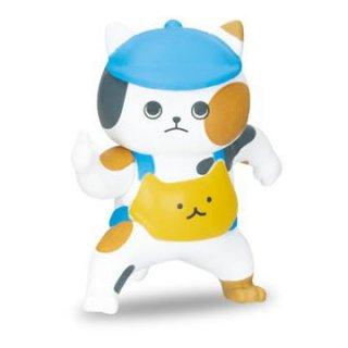 審判ねこ マスコットフィギュア [3.ストライク]【ネコポス配送対応】【C】