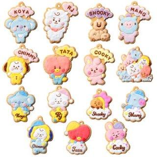 【全部揃ってます!!】BT21 クッキーチャームコット [全15種セット(フルコンプ)]【 ネコポス不可 】【C】