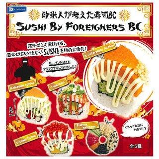 【全部揃ってます!!】欧米人が考えた寿司BC [全5種セット(フルコンプ)]【ネコポス配送対応】【C】