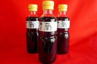 醤油「 蘭 」200ml