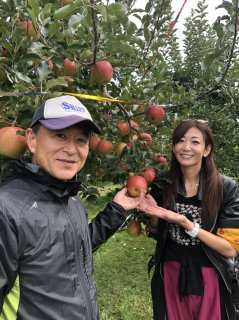 【送料込】中島史恵さんの「おにいちゃんのりんご」!!3kg 長野県ナカジマ農園より「シナノスイート」のこりわずか!