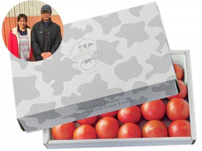 ギフトにもおすすめ!「うしの恵み フルーツトマト」 予約販売 1.5キロ小玉30個前後 3月から順次発送 限定30箱