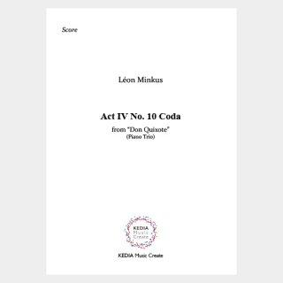 "Minkus:""Don Quixote"" Act IV No. 10 Coda from Grand pas de deux (Piano Trio)"