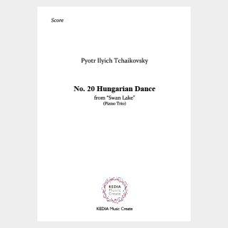 """Tchaikovsky:""""Swan Lake"""" Op. 20 No. 20 Hungarian Dance (Piano Trio)"""