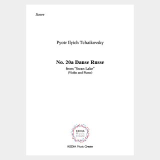"Tchaikovsky:""Swan Lake"" Op. 20 No. 20a Danse Russe (Violin, Piano)"