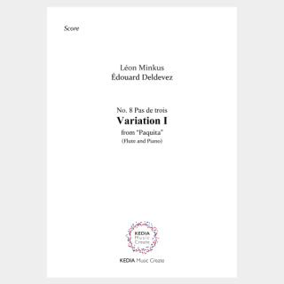 """Minkus, Deldevez : """"Paquita"""" Pas de trois, Variation I (Flute, Piano)"""