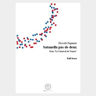"""Paganini : """"Le Carnaval de Venise"""" Satanella Pas de deux Full Score and Parts"""