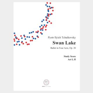 """Tchaikovsky : """"Swan Lake"""" Op. 20  Miniature Score"""