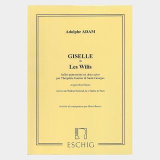 """Adam : """"Giselle ou Le Wilis"""" Piano Score"""