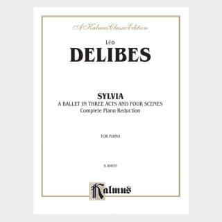 """Delibes: """"Sylvia"""" Piano Score"""