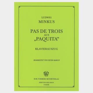 "Minkus : ""Paquita"" Pas de trois, Piano Score"