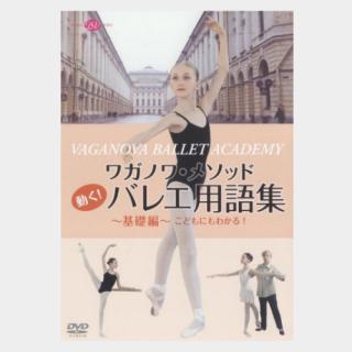 [DVD] ワガノワ・メソッド 動く!バレエ用語集〜基礎編〜こどもにもわかる
