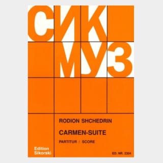 Bizet / Shchedrin: Carmen Suite (Study Score)