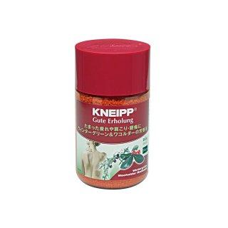 クナイプ グーテエアホールング バスソルト ウィンターグリーン&ワコルダーの香り<br>の商品画像