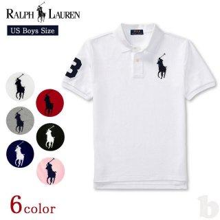 ポロラルフローレン USボーイズ  ポロシャツ ビッグポニー 半袖 323670257 POLO RALPH LAUREN BIG PONY <br>【ネコポス対応】<br>