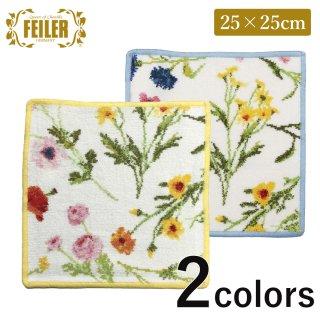 フェイラー タオルハンカチ25×25cm FlowerMeadow【並行輸入品】<br>【ネコポス対応】<br>の商品画像