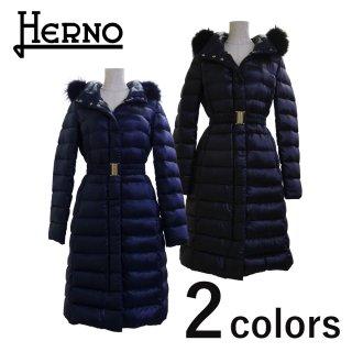 HERNO ベルト付ロングダウンコート<br>の商品画像