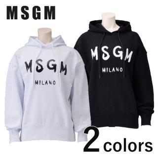 MSGM ロゴパーカー<br>の商品画像