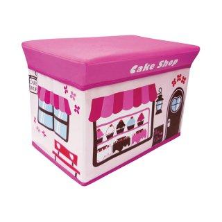 ストレージボックス スツール<br>(ケーキショップ)<br>の商品画像