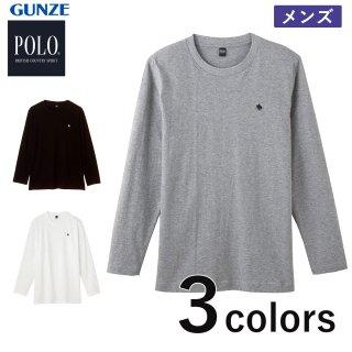 GUNZE  POLO BRITISH COUNTRY SPIRIT  長袖Tシャツ クルーネック メンズ<br>の商品画像