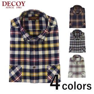 DECOY カジュアルチェックシャツ メンズ秋冬新作 214152<br>の商品画像